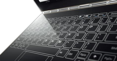 Lenovo launches Yoga Book: A tablet with touch keyboard