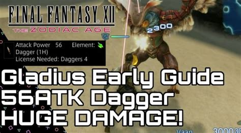 Final Fantasy XII: Zodiac Age – Overpowered Weapon Early