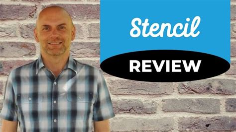 Stencil Review and Demo | Social media images, Stencils