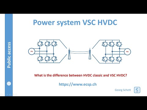 Analysing the costs of High Voltage Direct Current (HVDC