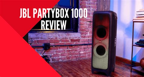 JBL PartyBox 1000 Review - Virtuoso Central