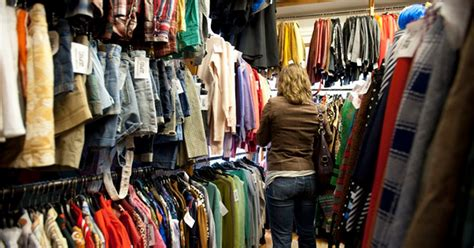 Secondhand clothes you give to charity shops sold for huge