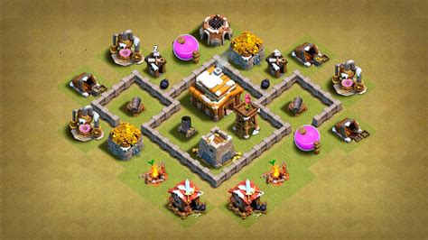 TH3 War Base Layout 【With Link】