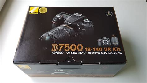 Nikon D7500 Unboxing & what's inside the box in 4K - YouTube