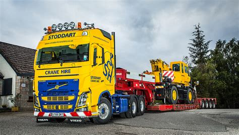 A new Volvo FH16 750 flagship reaches new heights at