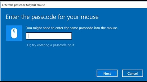 Bluetooth mouse passcode passkey - fix - YouTube
