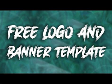 Free Abstract Logo and Banner Template #6 | D