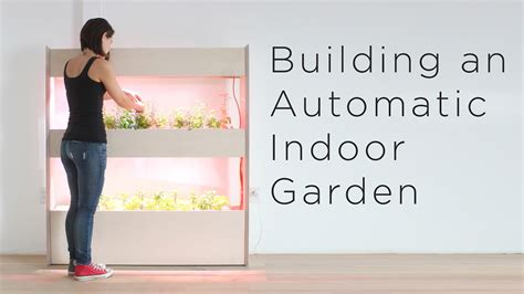 Setting Up an Automatic Indoor Garden | Customizing a