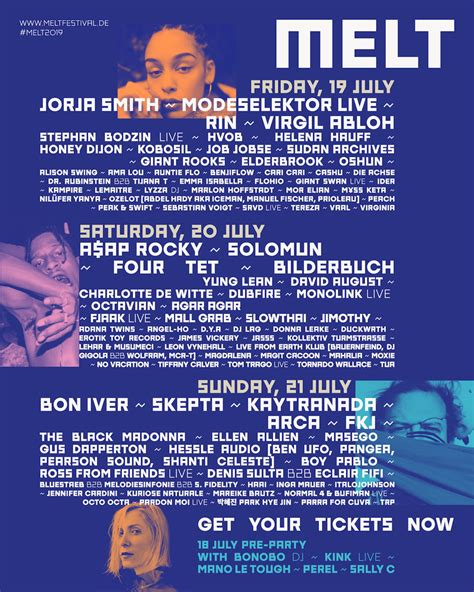 Melt Festival 2019 - Tickets, line-up, timetable & info