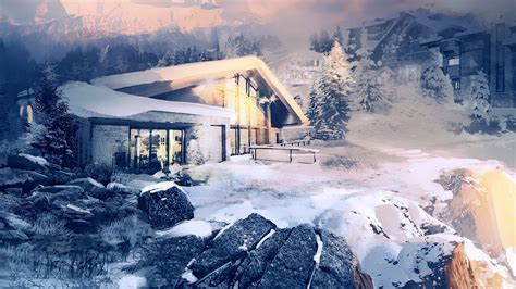 Someone made Rainbow Six Siege's Chalet map in The Sims 4