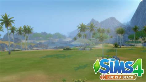 The Sims 4: Life Is A Beach Mod coming December 22nd!